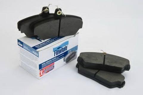Комплект тормозных колодок, дисковый тормоз FINWHALE V202