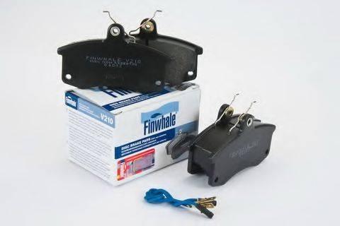 Комплект тормозных колодок, дисковый тормоз FINWHALE V210