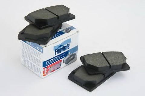 Комплект тормозных колодок, дисковый тормоз FINWHALE V211