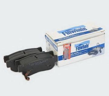 Комплект тормозных колодок, дисковый тормоз FINWHALE V1006