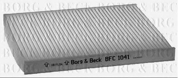 Фильтр, воздух во внутренном пространстве BORG & BECK BFC1041