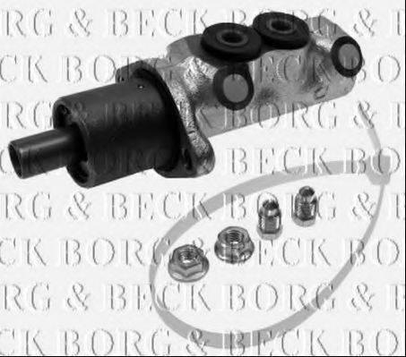 BORG & BECK BBM4178 Главный тормозной цилиндр