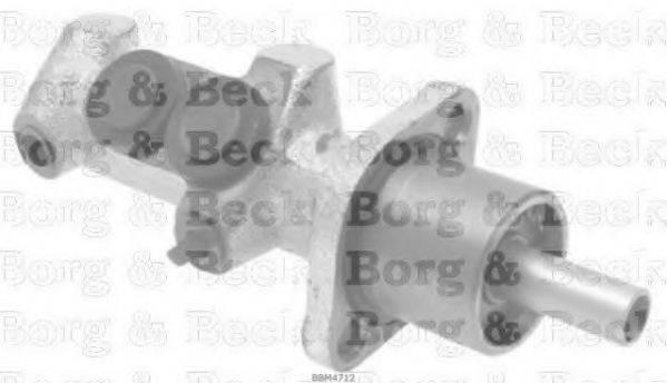 BORG & BECK BBM4712 Главный тормозной цилиндр