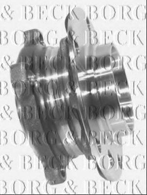 BORG & BECK BWK731 Комплект подшипника ступицы колеса