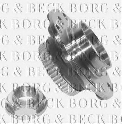 BORG & BECK BWK403 Комплект подшипника ступицы колеса