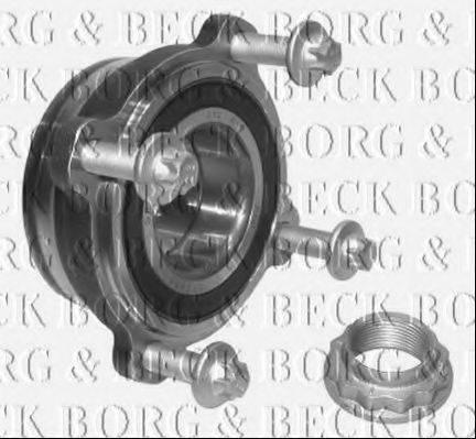 BORG & BECK BWK732 Комплект подшипника ступицы колеса