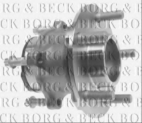 BORG & BECK BWK995 Комплект подшипника ступицы колеса
