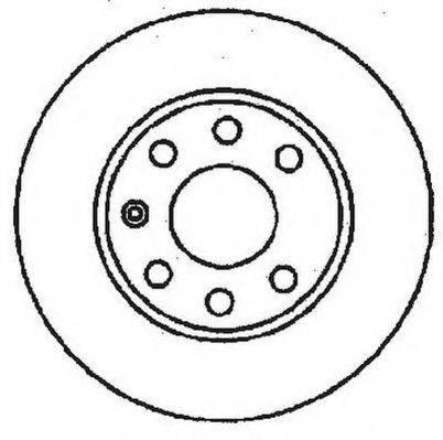 JURID 561248JC Тормозной диск