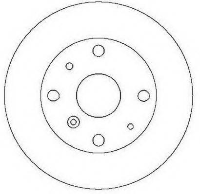 JURID 561558J Тормозной диск