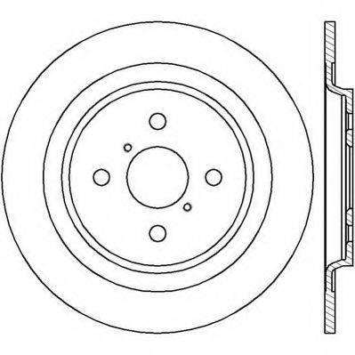JURID 562422JC Тормозной диск