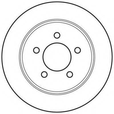 JURID 562646JC Тормозной диск