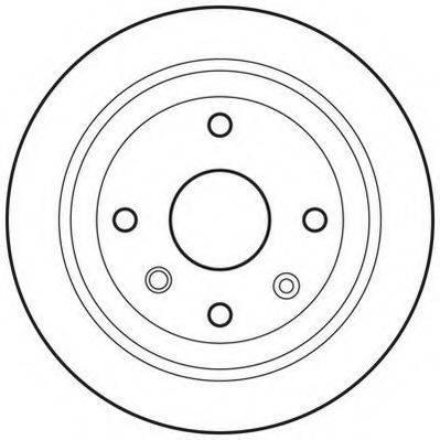 JURID 562740JC Тормозной диск
