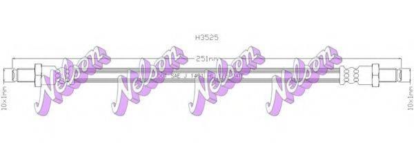 BROVEX-NELSON H3525 Тормозной шланг