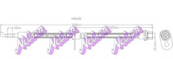BROVEX-NELSON H5648 Тормозной шланг