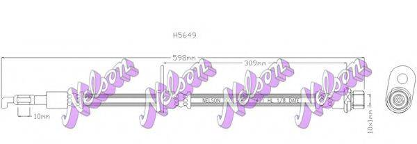 BROVEX-NELSON H5649 Тормозной шланг