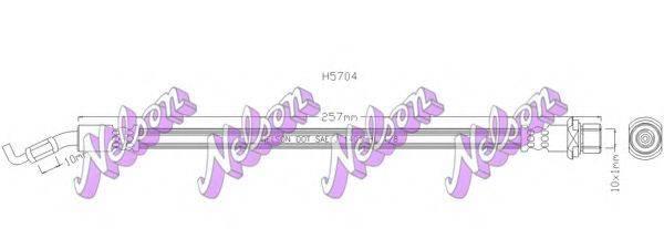 BROVEX-NELSON H5704 Тормозной шланг