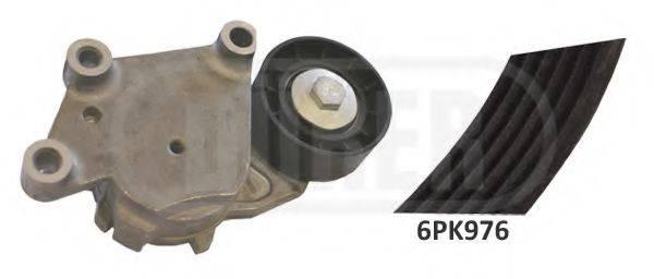 DURER 123016 Поликлиновой ременный комплект