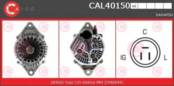 CASCO CAL40150AS Генератор
