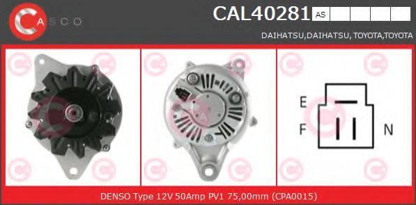CASCO CAL40281AS Генератор