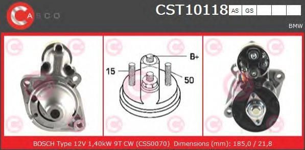 CASCO CST10118AS Стартер