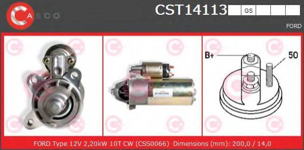 CASCO CST14113GS Стартер