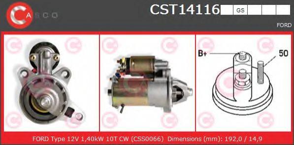CASCO CST14116GS Стартер