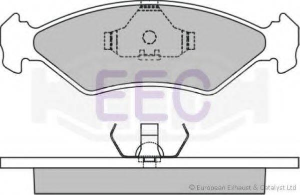 EEC BRP0959 Комплект тормозных колодок, дисковый тормоз