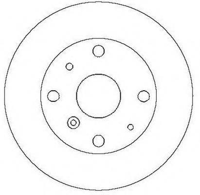BENDIX 561558B Тормозной диск