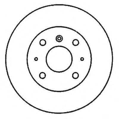 BENDIX 561635B Тормозной диск
