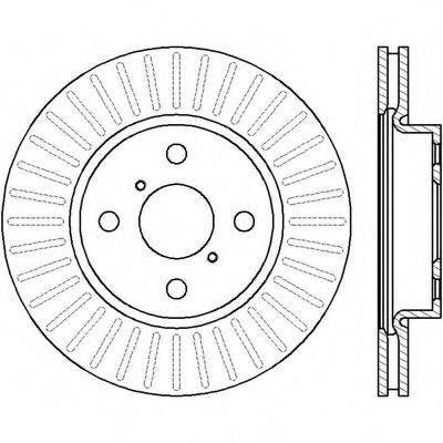 BENDIX 562421B Тормозной диск