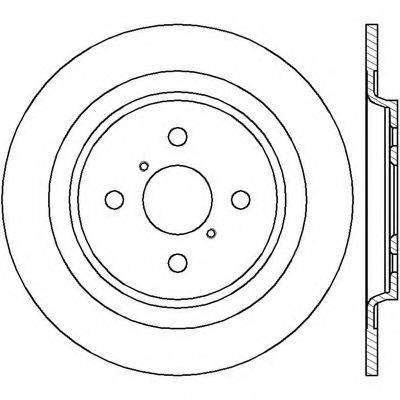 BENDIX 562422B Тормозной диск
