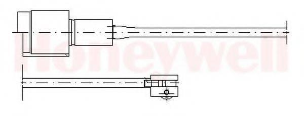 BENDIX 581329 Сигнализатор, износ тормозных колодок