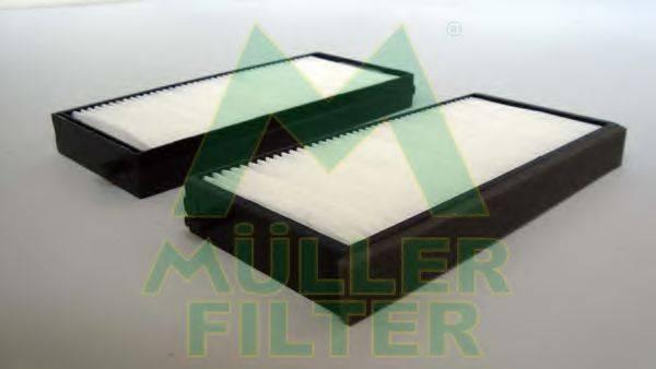 Фильтр, воздух во внутренном пространстве MULLER FILTER FC362x2