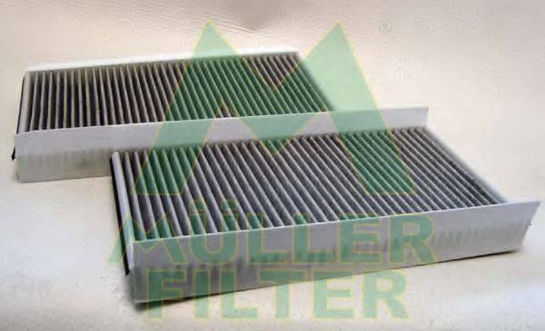 Фильтр, воздух во внутренном пространстве MULLER FILTER FK238x2