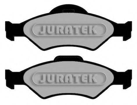 JURATEK JCP1393 Комплект тормозных колодок, дисковый тормоз
