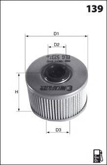 LUCAS FILTERS LFDE113 Топливный фильтр