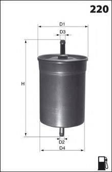 LUCAS FILTERS LFPF006 Топливный фильтр
