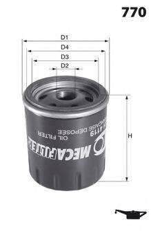 LUCAS FILTERS LFOS127 Масляный фильтр