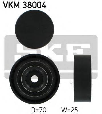 SKF VKM38004 Паразитный / ведущий ролик, поликлиновой ремень