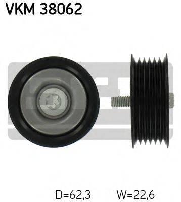 SKF VKM38062 Паразитный / ведущий ролик, поликлиновой ремень