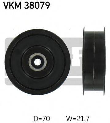 SKF VKM38079 Паразитный / ведущий ролик, поликлиновой ремень