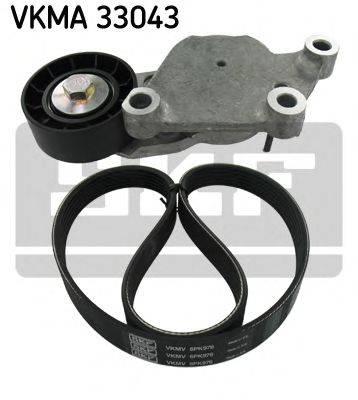 SKF VKMA33043 Поликлиновой ременный комплект