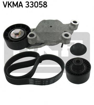 SKF VKMA33058 Поликлиновой ременный комплект