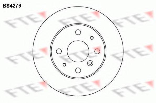 FTE BS4276 Тормозной диск