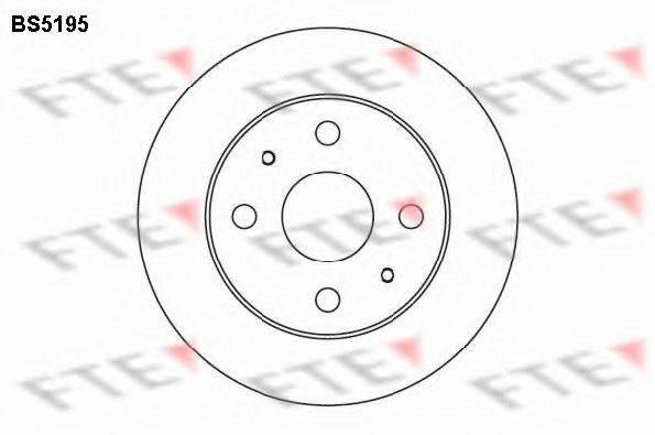FTE BS5195 Тормозной диск