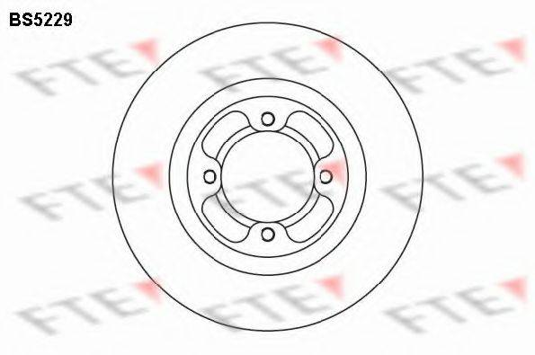 FTE BS5229 Тормозной диск