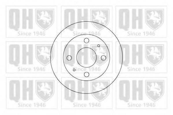 QUINTON HAZELL BDC5205 Тормозной диск