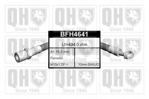 QUINTON HAZELL BFH4641 Тормозной шланг