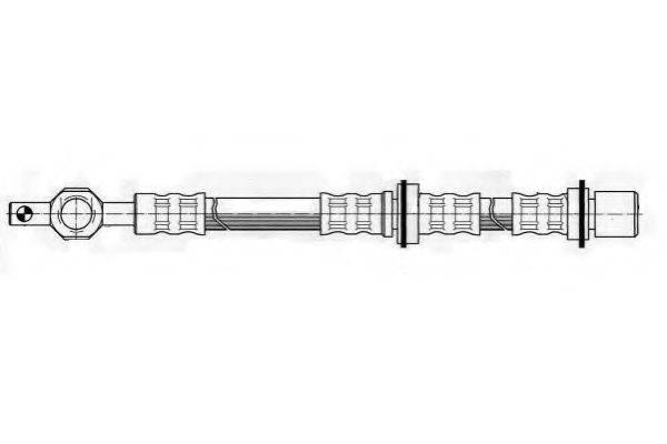 FERODO FHY2153 Тормозной шланг