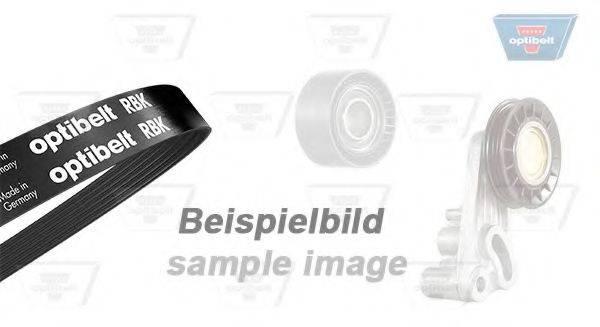 OPTIBELT 6PK1538KT1 Поликлиновой ременный комплект